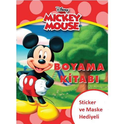 Mickey Mouse Boyama Kitabi Stickerli 16 Sayfa 3 81 Tl Kdv