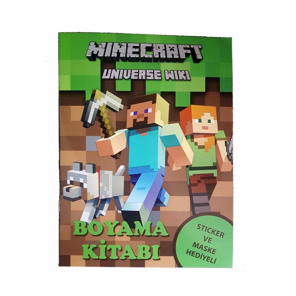 Minecraft Boyama Kitabı 381 Tl Kdv