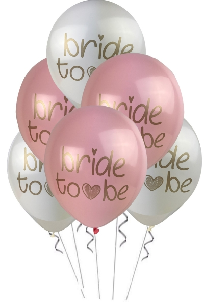 Bride To Be Pastel Balon 5 li