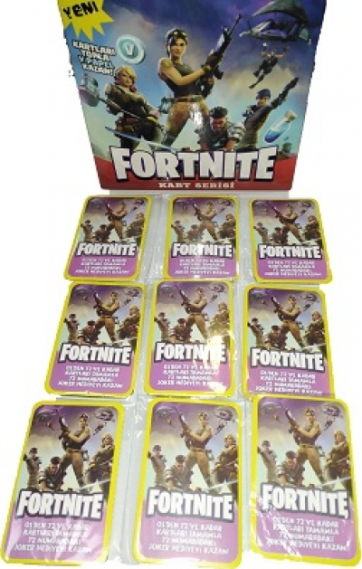 FORTNITE OYUN  KARTLARI