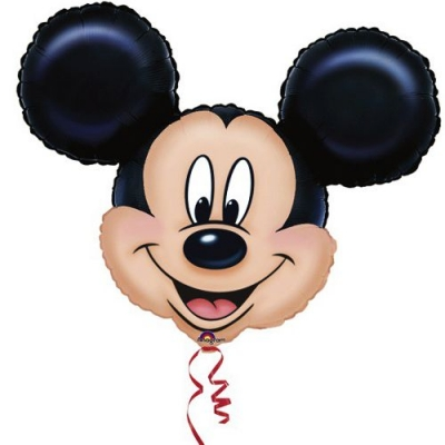 Mickey Mouse Baş Folyo Balon