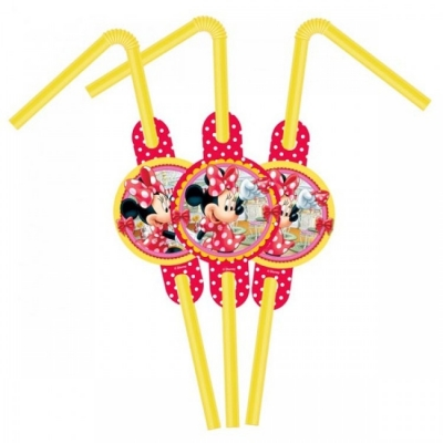 Minnie Mouse  Pipet 6 adet